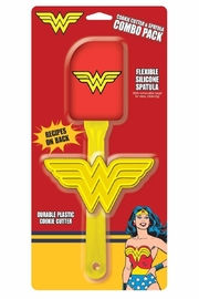 ICUP Wonder Woman Spatula Set - Product Mini Image