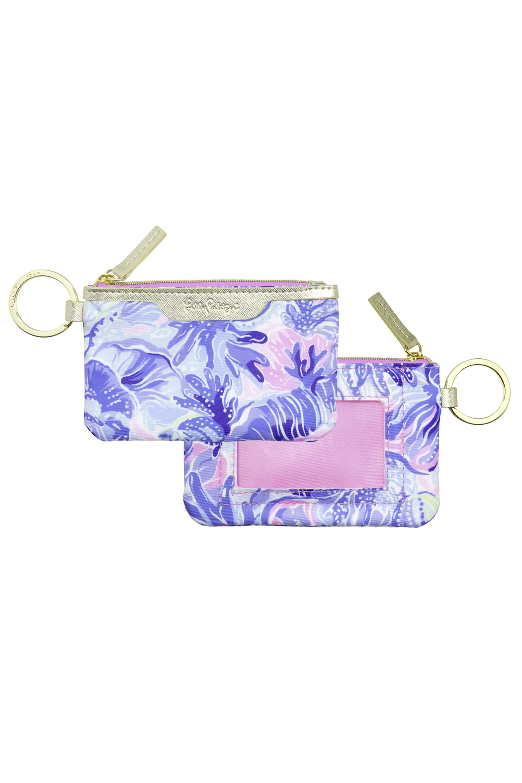 Lilly Pulitzer Lilly ID & Card Case - Front Cropped Image