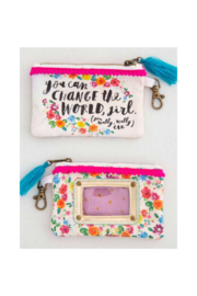 Natural Life ID Pouch - Front cropped