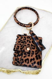 Southern Seoul ID Wallet Wristlet with Tassel - Product Mini Image
