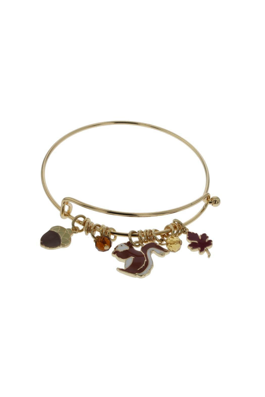 Idc Jewelry Fall Squirrel Bracelet Front Cropped Image