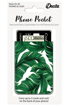 iDecoz Banana-Leaf Phone Pocket - Alternate List Image