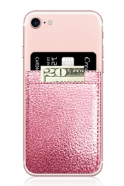 iDecoz Faux Leather Phone-Pocket - Front cropped
