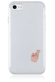iDecoz Fingers-Crossed Phone Pocket - Product Mini Image
