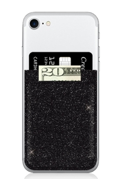 Shoptiques Product: Glitter Phone Pocket