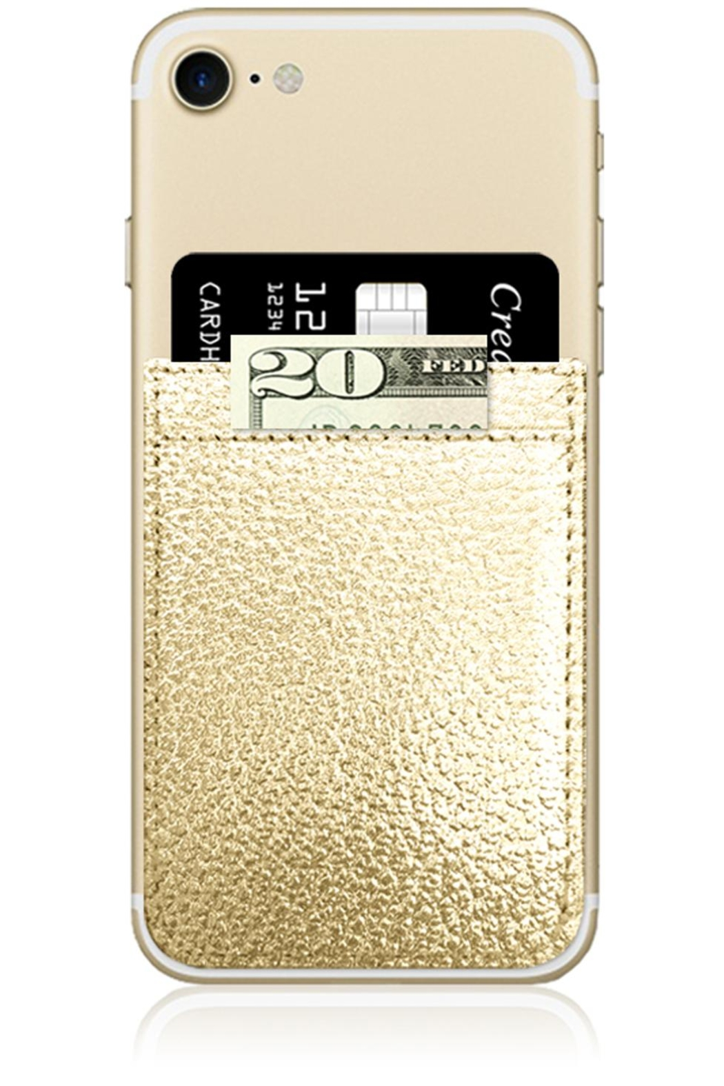 iDecoz Gold Phone Pocket - Main Image