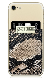 iDecoz Phone Pocket Wallet - Front cropped