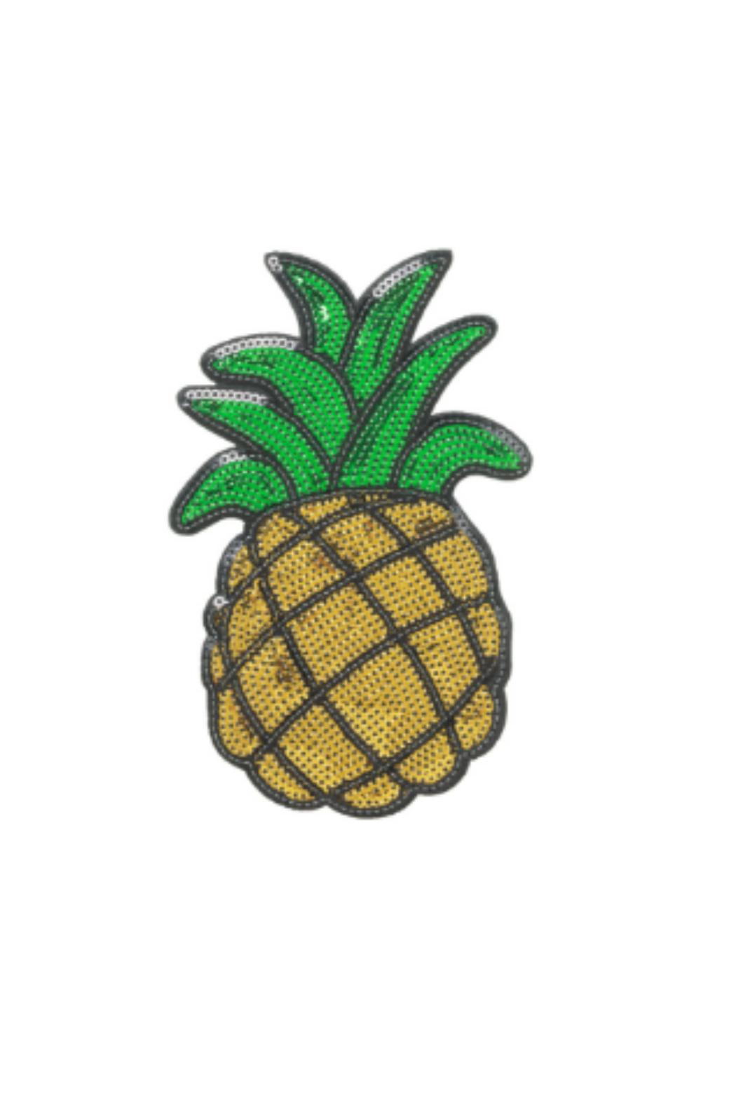 iDecoz Pineapple Sequin Patch - Main Image