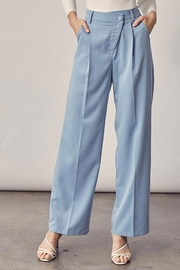 Idem Ditto  Asymmetrical Button Pants - Product Mini Image