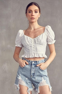 Idem Ditto  Button Down Top - Product List Image