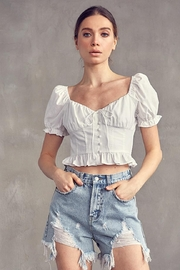 Idem Ditto  Button Down Top - Product Mini Image