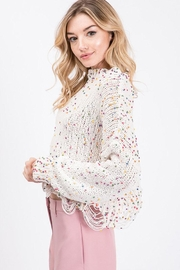 Idem Ditto  Colorful Dot Sweater - Front full body