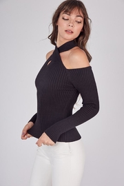 Idem Ditto  Cross Neck Sweater - Front full body