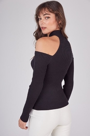 Idem Ditto  Cross Neck Sweater - Side cropped