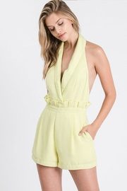 Idem Ditto  Halter Neck Romper - Front cropped