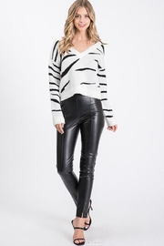 Idem Ditto  Leather Skinny Pants - Product Mini Image