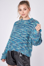 Idem Ditto  Long-Sleeve Knit Sweater - Product Mini Image