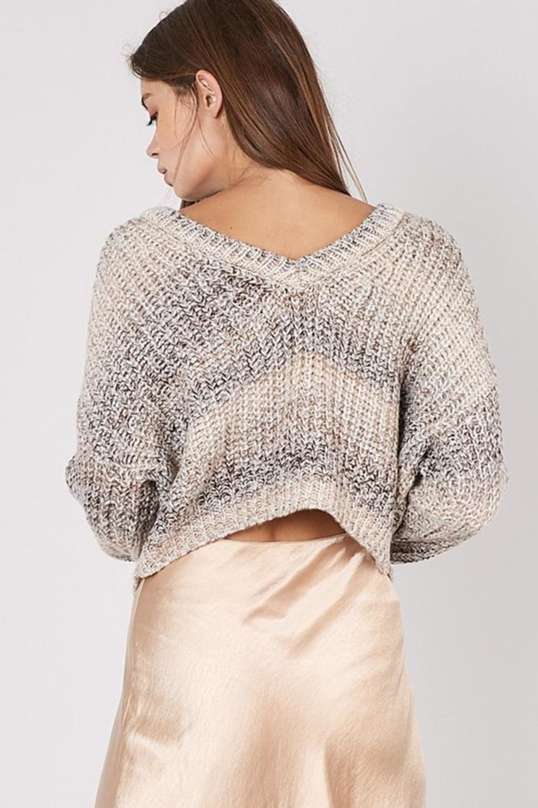 Idem Ditto  Multi Wear Sweater - Back Cropped Image