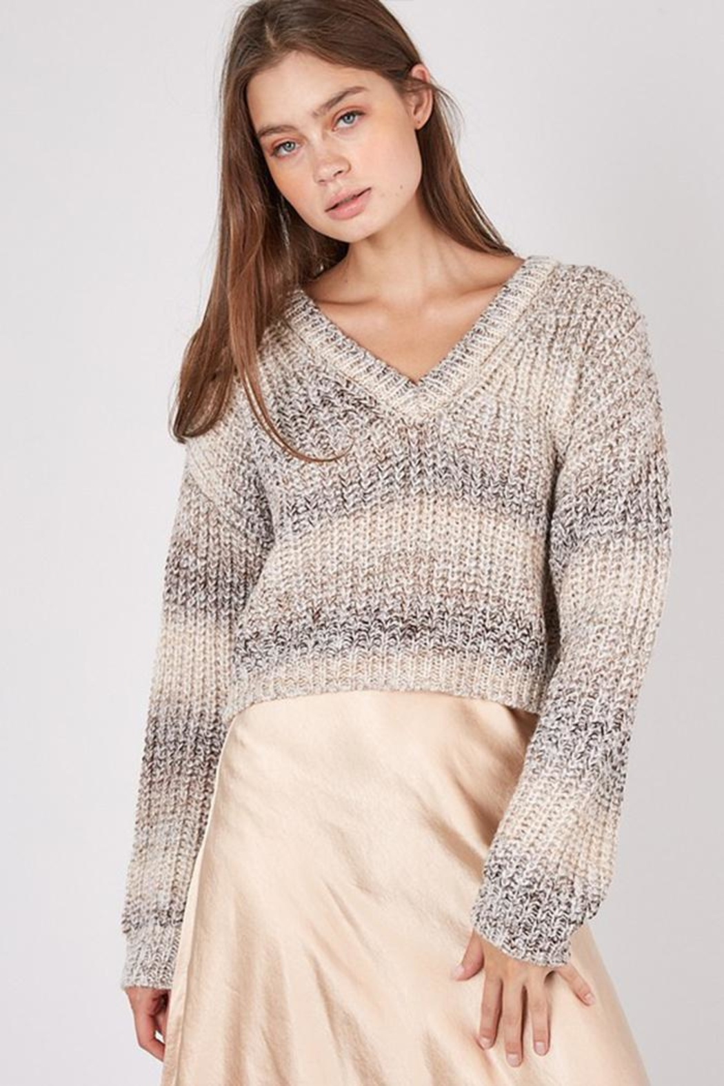 Idem Ditto  Multi Wear Sweater - Side Cropped Image