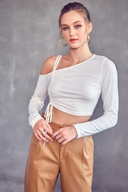 Idem Ditto  One Shoulder Top - Product Mini Image