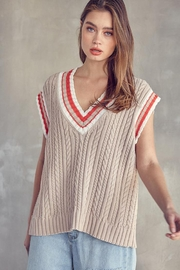 Idem Ditto  Oversized Sweater Vest - Other