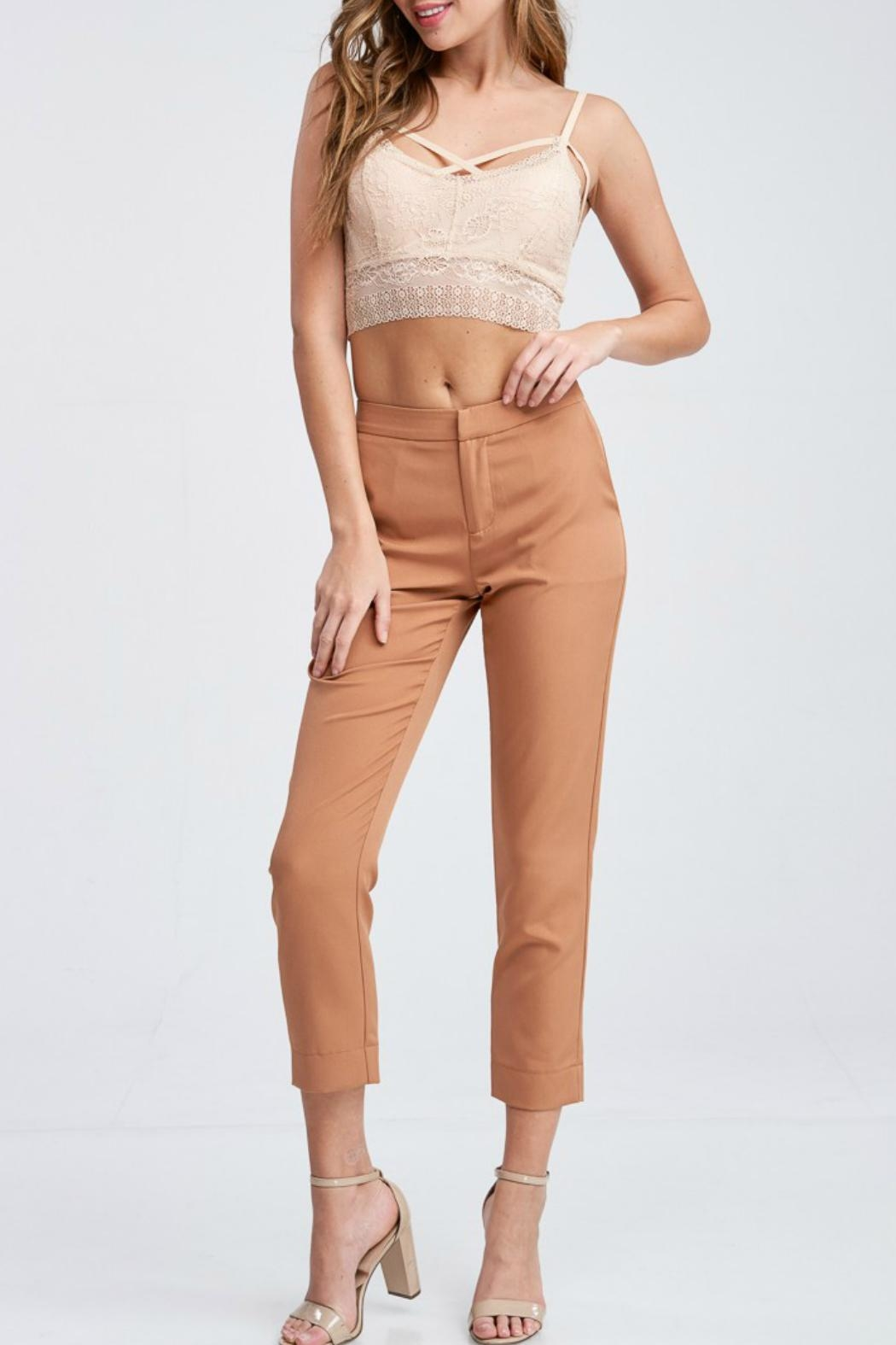 Idem Ditto  Pumpkin Spice Trousers - Main Image