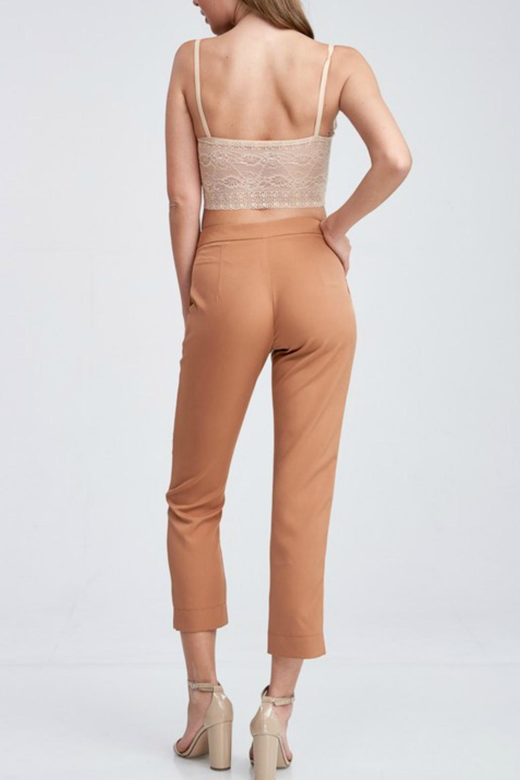 Idem Ditto  Pumpkin Spice Trousers - Front Full Image