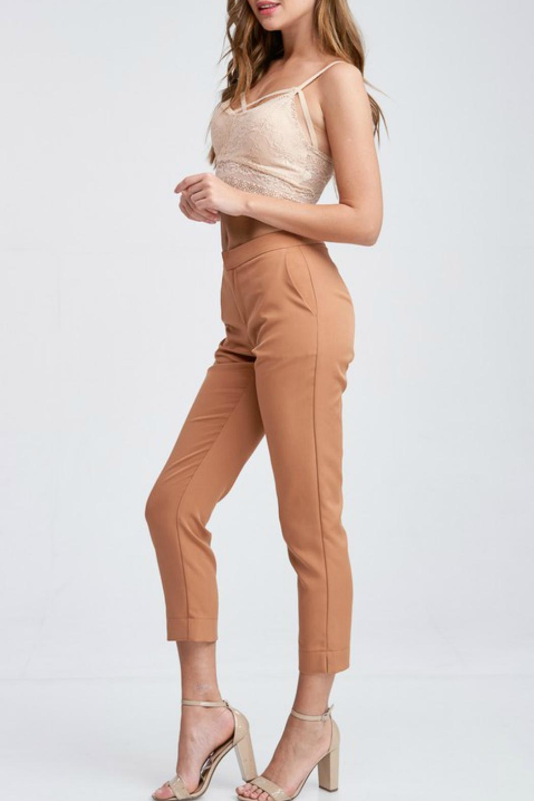 Idem Ditto  Pumpkin Spice Trousers - Side Cropped Image
