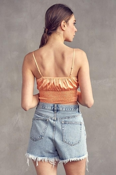 Idem Ditto  Ruched Satin Cami Top - Alternate List Image