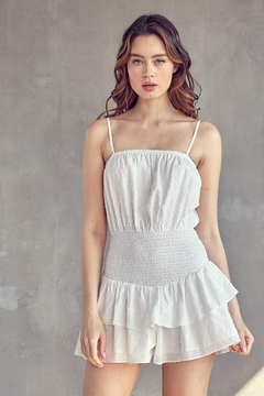 Idem Ditto  Ruffle Layered Romper - Product List Image