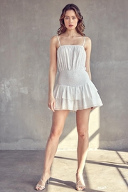 Idem Ditto  Ruffle Layered Romper - Front full body