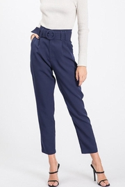 Idem Ditto  Semiformal Belted Pants - Front cropped