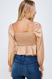Idem Ditto  Square Neck Blouse - Back cropped
