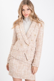 Idem Ditto  Tweed Button Blazer - Product Mini Image