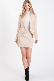 Idem Ditto  Tweed Skirt Set - Front cropped
