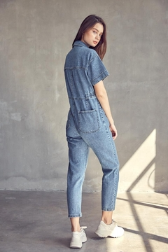 Idem Ditto  Utility Denim Jumpsuit - Alternate List Image