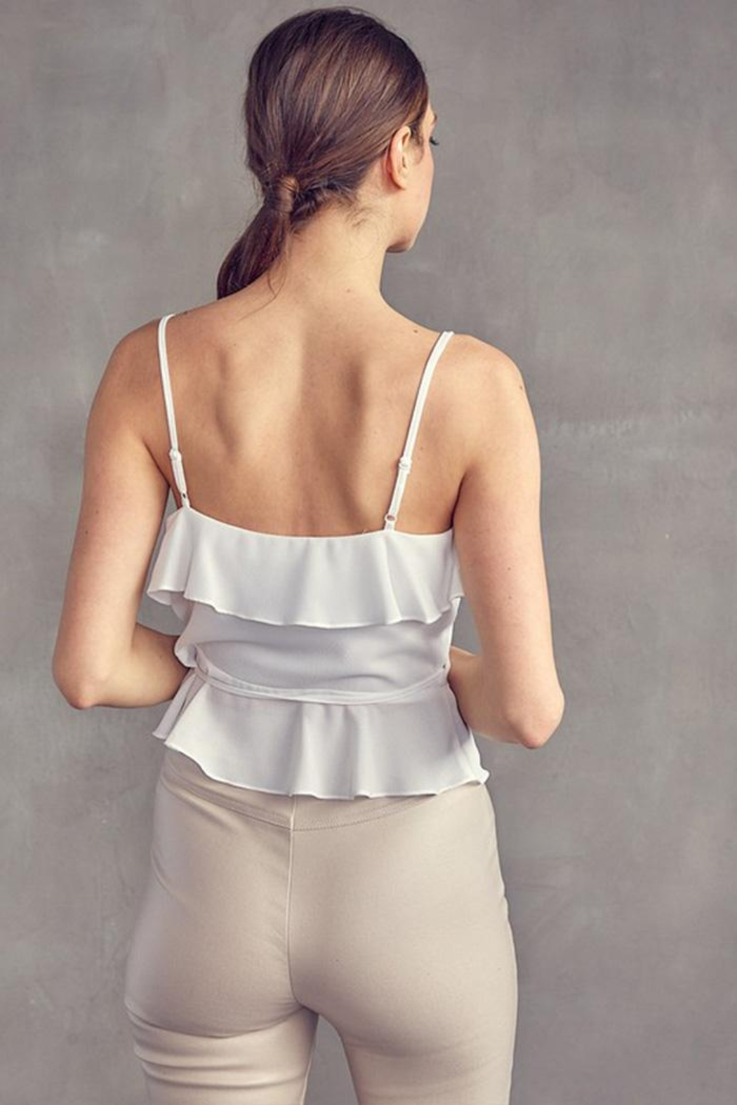 Idem Ditto  Wrap Cami Top - Front Full Image