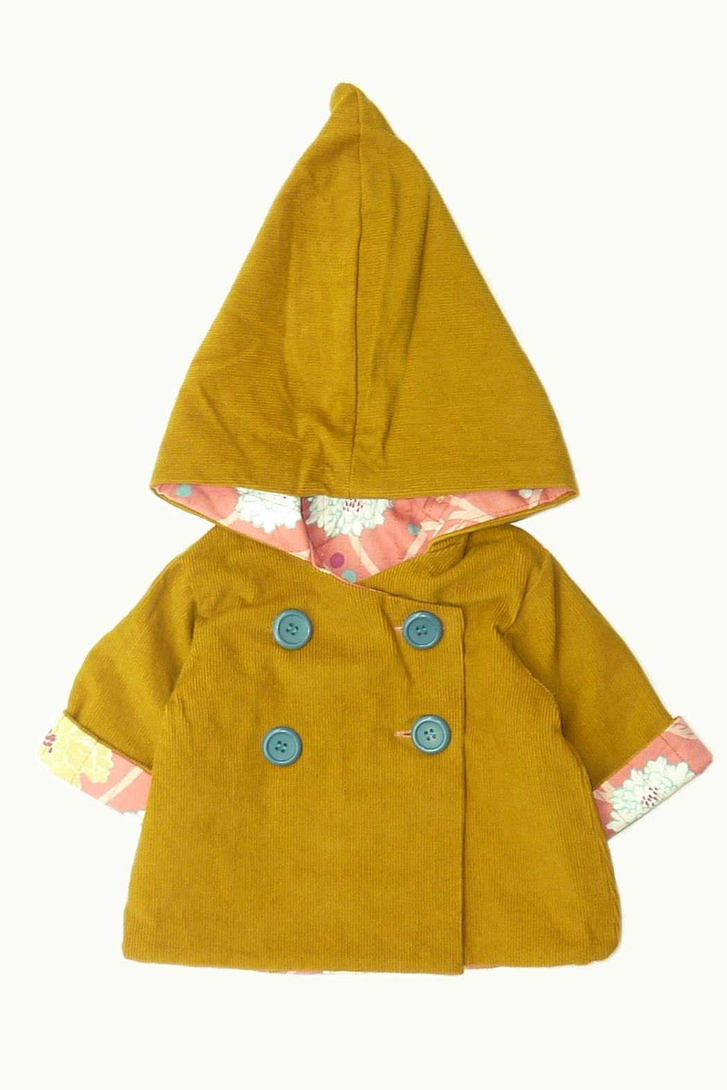 ie Coat With Hood - Side Cropped Image