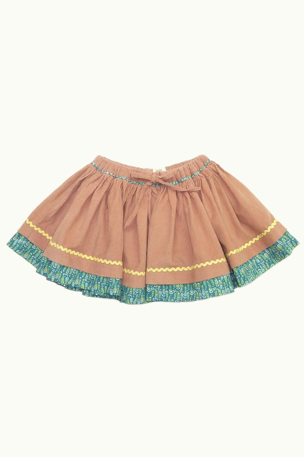 ie Corduroy Gather Skirt - Front Cropped Image