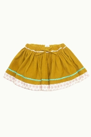 ie Corduroy Gather Skirt - Front cropped