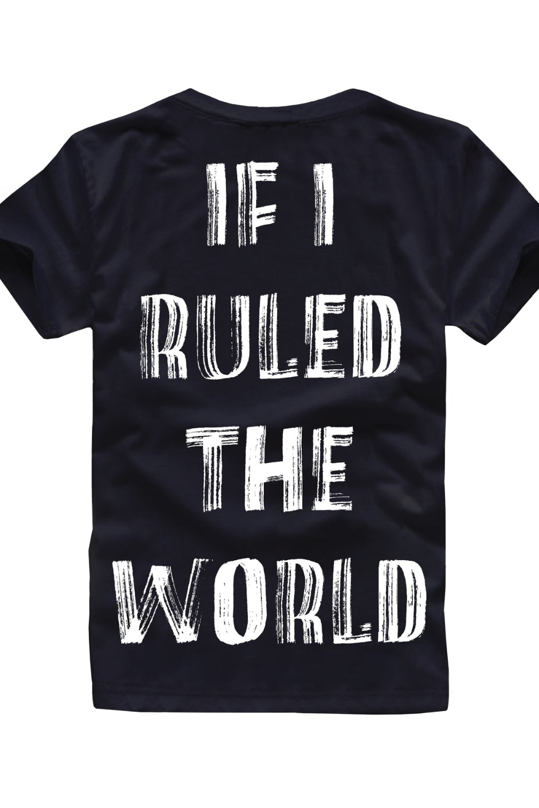Paper Plain  If I ruled the world tee - Front Cropped Image