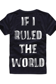 Paper Plain  If I ruled the world tee - Front cropped