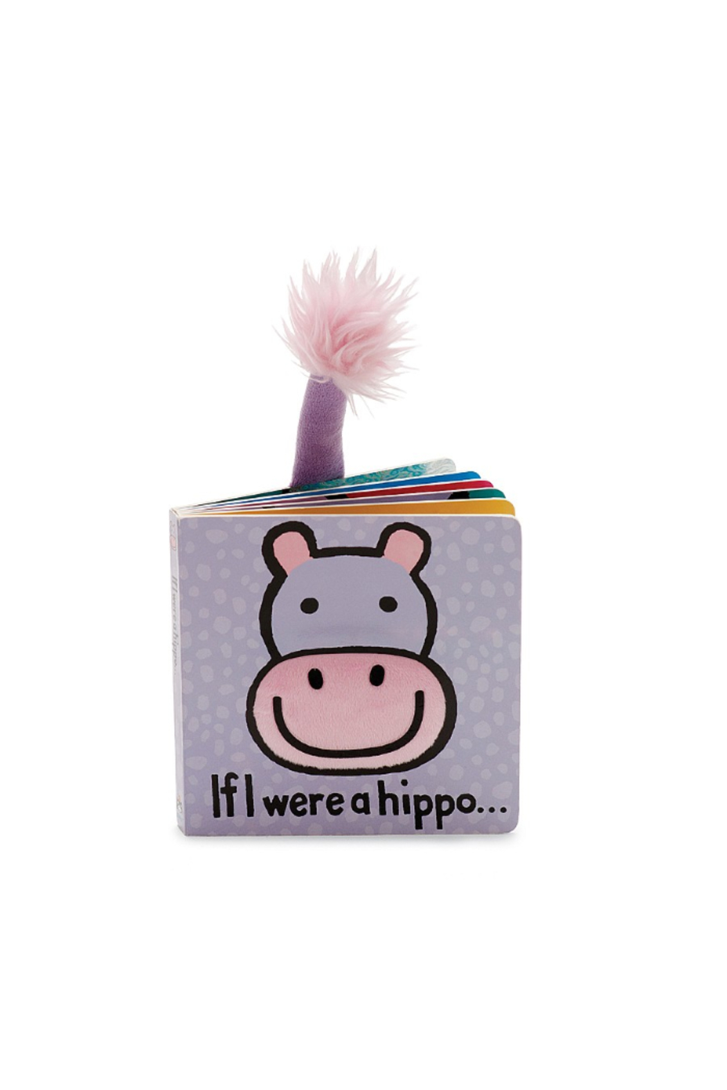 Jellycat  IF I WERE A HIPPO BOOK - Main Image