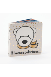 Jellycat IF I WERE A POLAR BEAR BOOK - Front cropped