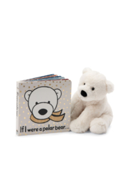 Jellycat IF I WERE A POLAR BEAR BOOK - Front full body