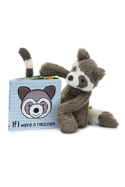 Jellycat If I were a Raccoon Book - Product Mini Image