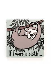 Jellycat  IF I WERE A SLOTH BOOK - Product Mini Image
