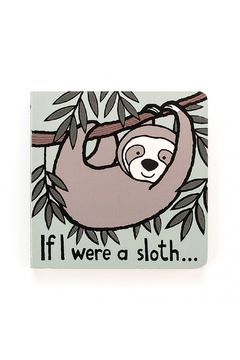 Jellycat If I Were A Sloth - Product List Image