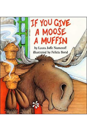 Harper Collins Publishers If You Give A Moose A Muffin - Front cropped