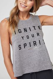 SPIRITUAL GANGSTER Ignite Crop Tank - Product Mini Image